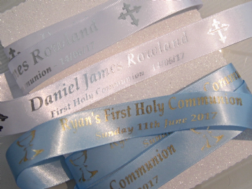 First Holy Communion Ribbon 5 metres